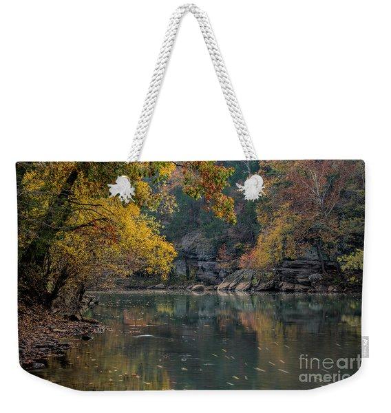 Fall In Arkansas Weekender Tote Bag