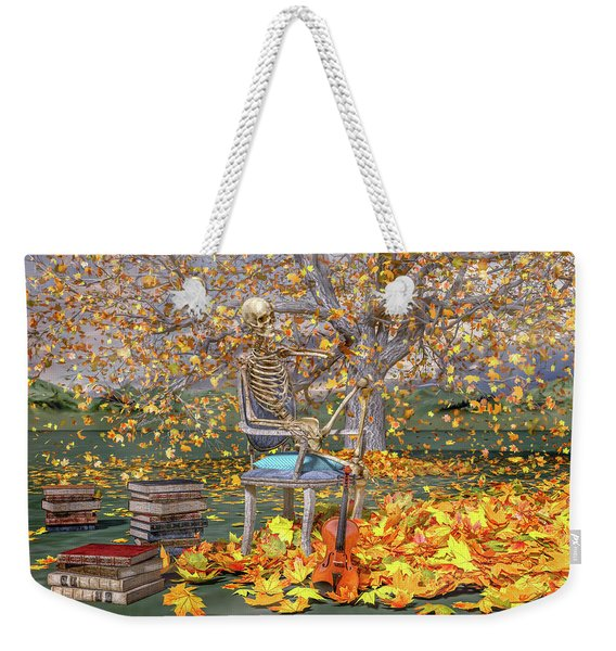 Fall Muse Weekender Tote Bag