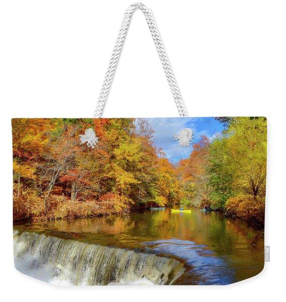Fall On Fall Weekender Tote Bag