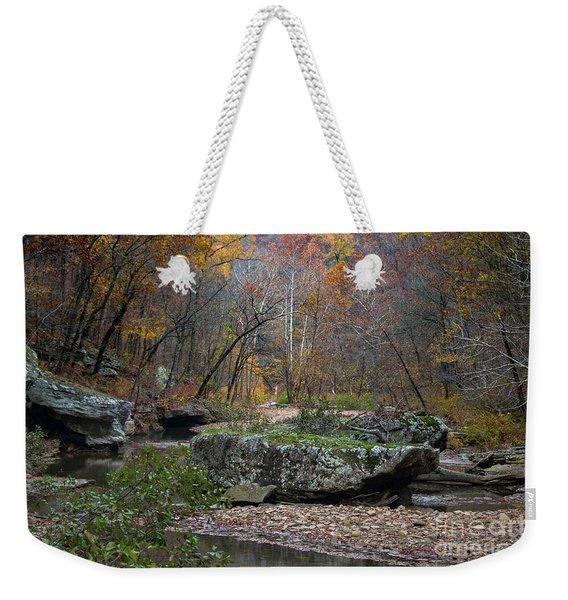 Fall On The Kings River Weekender Tote Bag