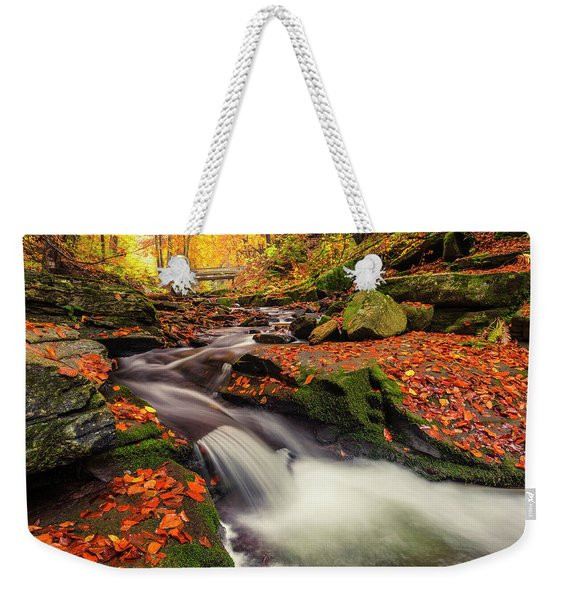 Fall Power Weekender Tote Bag