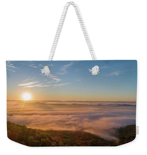 Fall Sunrise Weekender Tote Bag