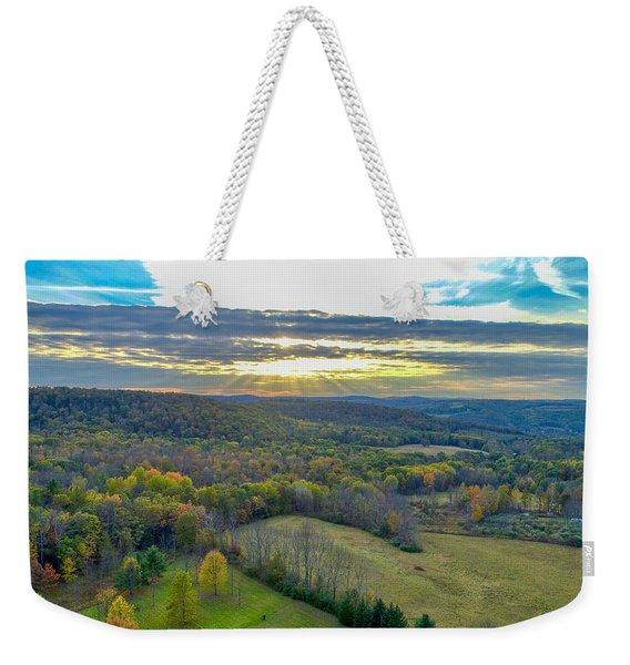 Fall Vibes  Weekender Tote Bag