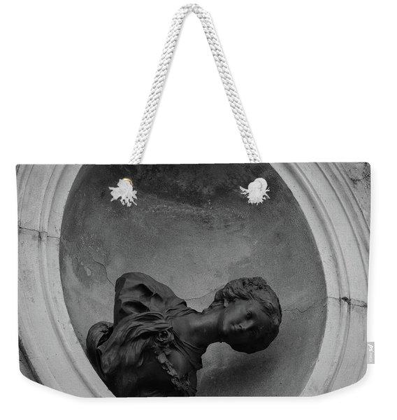 Fallen Goddess Weekender Tote Bag