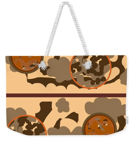 Falling Into Fall G102 Weekender Tote Bag