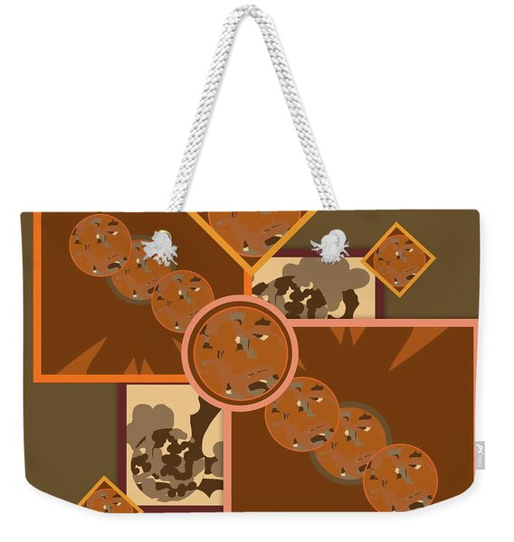 Falling Into Fall G106 Weekender Tote Bag