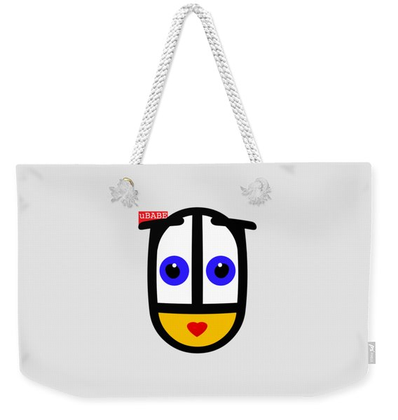 Famous Female Face Weekender Tote Bag