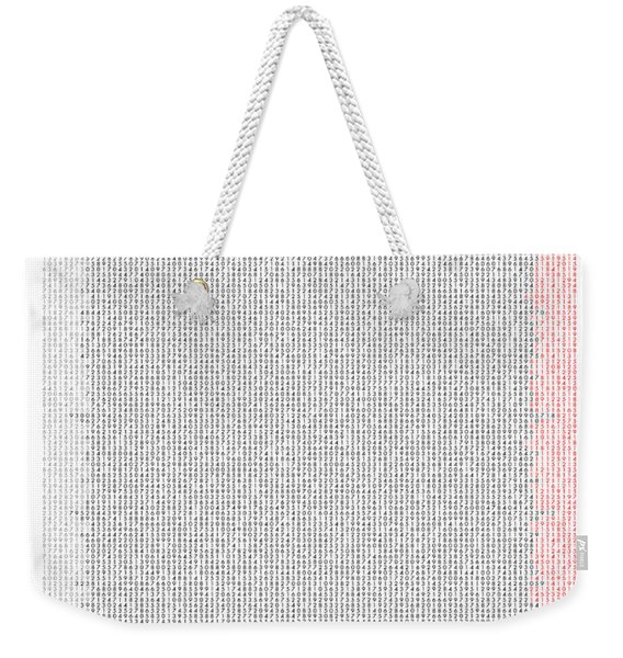 Famous Mathematicians In Pi Weekender Tote Bag