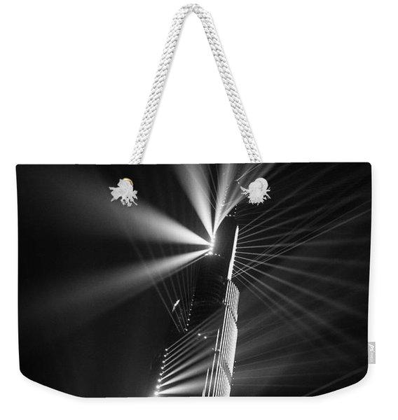 Fan Dance Weekender Tote Bag