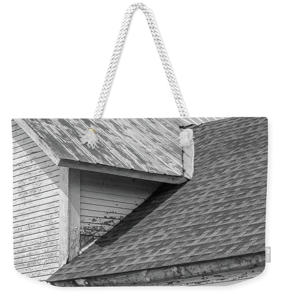 Farm House Roof Lines New Topographics Weekender Tote Bag