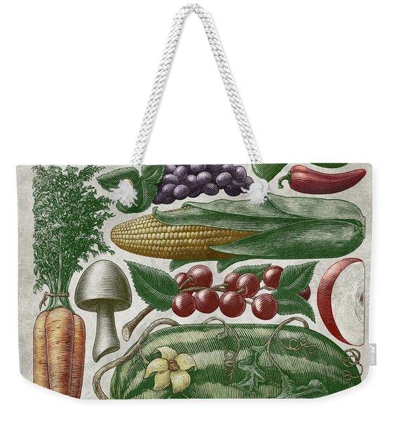 Farmer's Market - Color Weekender Tote Bag