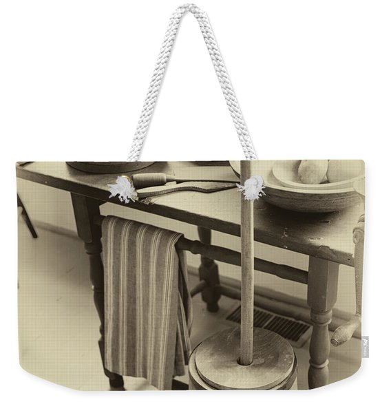 Farmhouse Butter Churn Weekender Tote Bag