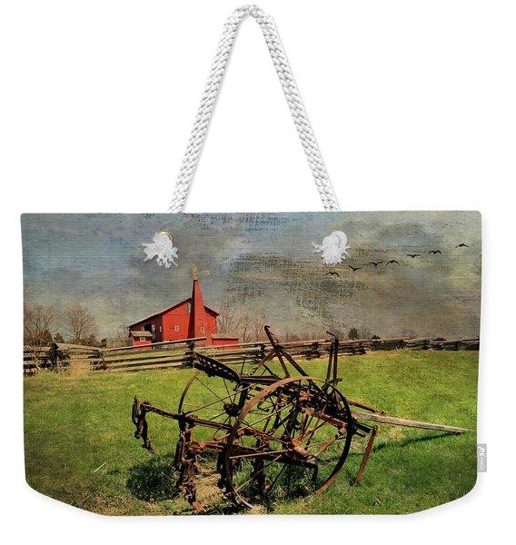 Farming In The 1880s Weekender Tote Bag