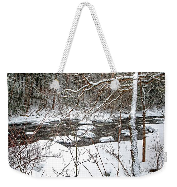 Farmington River - Northern Section Weekender Tote Bag
