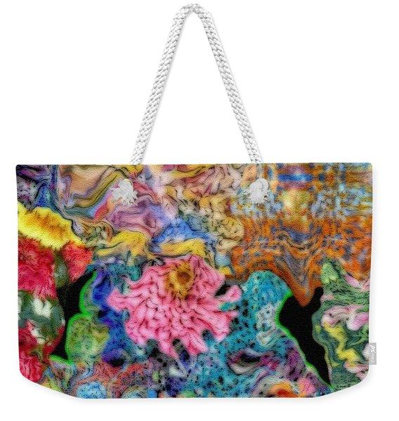 Fascinating Color Weekender Tote Bag