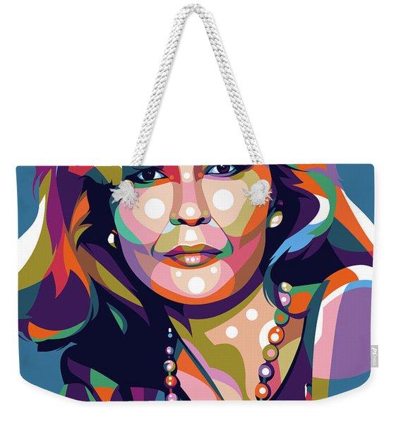 Faye Dunaway Weekender Tote Bag