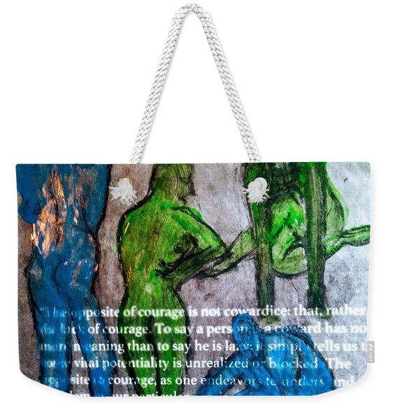 Fear Of The Inexplicable Weekender Tote Bag