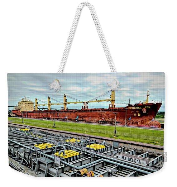 Federal Leda Freighter Weekender Tote Bag