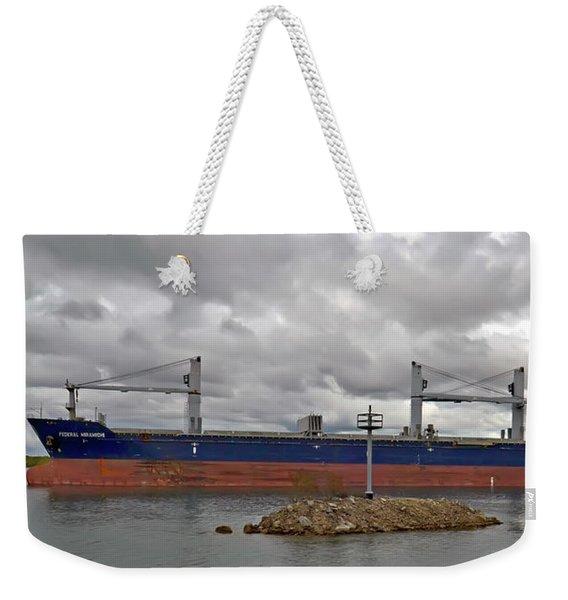 Federal Miramichi Freighter Weekender Tote Bag