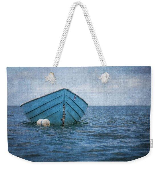 Feel The Blues Weekender Tote Bag