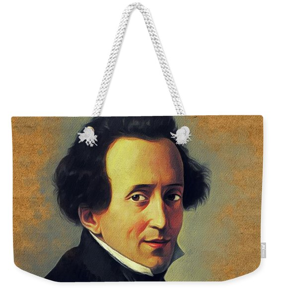 Felix Mendelssohn, Music Legend Weekender Tote Bag