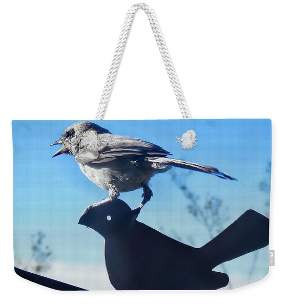 Caption This Weekender Tote Bag