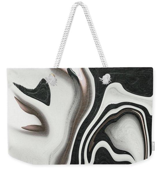 Feminine V Weekender Tote Bag