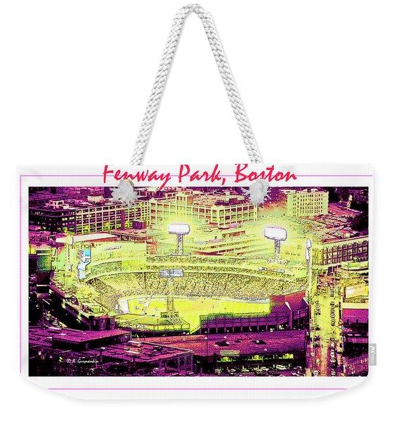 Fenway Park Boston Massachusetts Digital Art Weekender Tote Bag