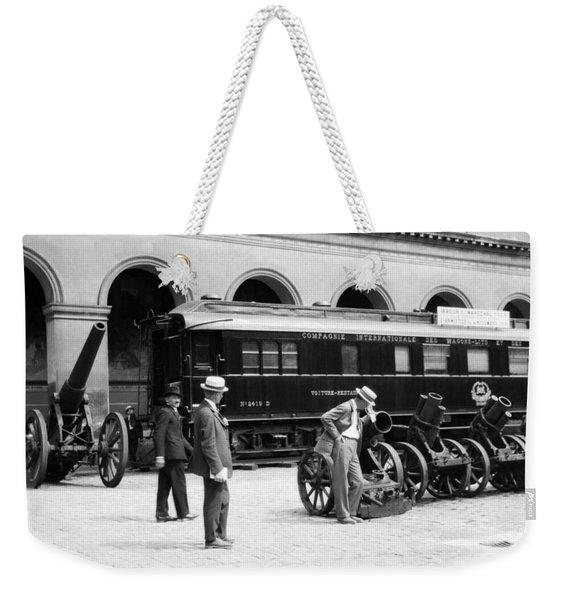 Ferdinand Foch Railroad Car - Wwi Armistice Weekender Tote Bag