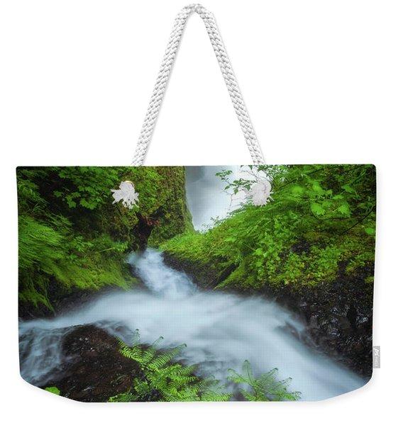 Fern Falls Weekender Tote Bag