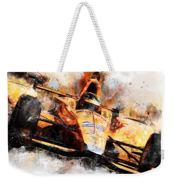 Fernando Alonso, Indy 500 - 04 Weekender Tote Bag