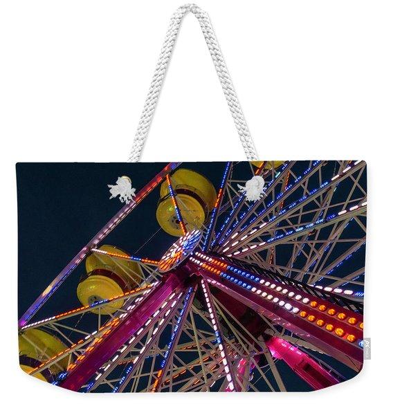 Ferris Wheel At Night Weekender Tote Bag