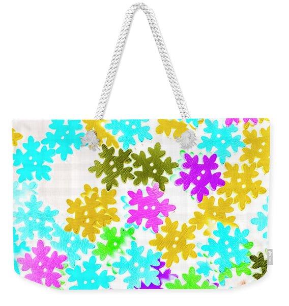 Festive Flakes Weekender Tote Bag