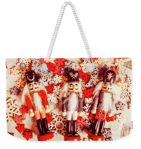 Festive Forces Weekender Tote Bag