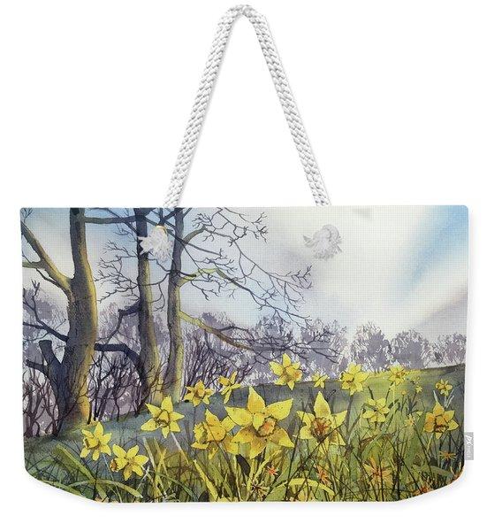 Field Of Hope At Burton Agnes Weekender Tote Bag