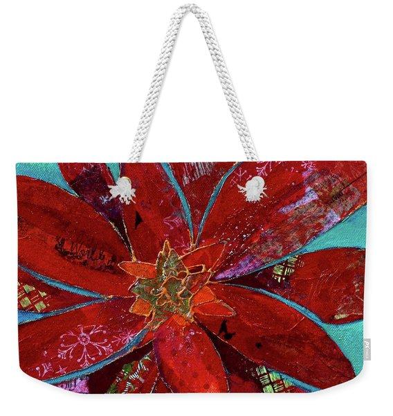 Fiery Bromeliad II Weekender Tote Bag