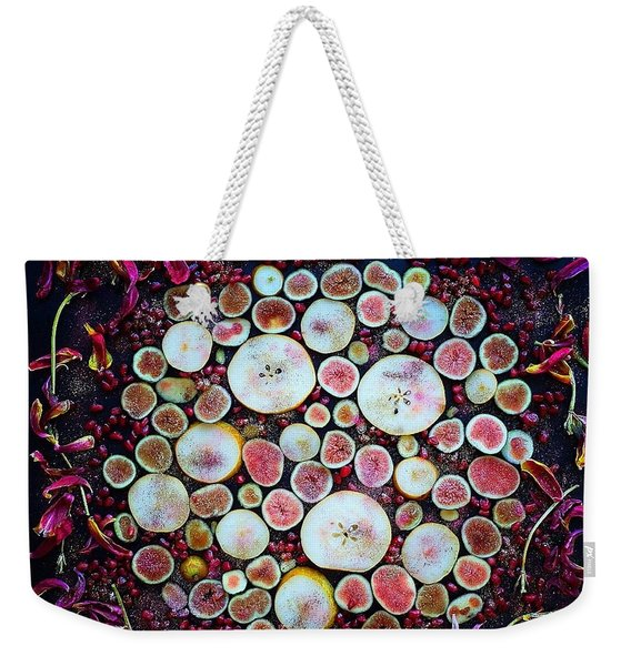 Figs Pears And Pomegranates Weekender Tote Bag