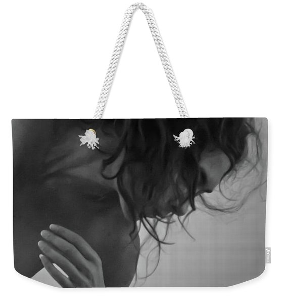Weekender Tote Bag featuring the photograph Figurative II by Catherine Sobredo