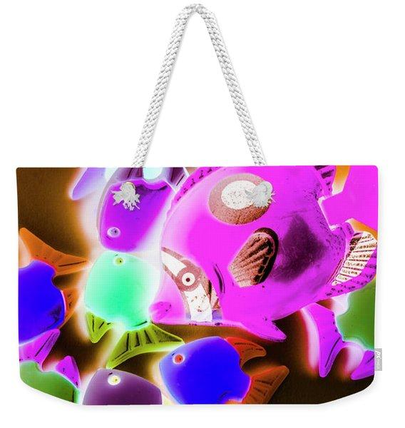 Finding Neon Weekender Tote Bag