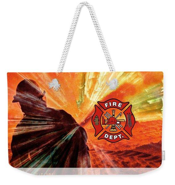 Fire Fighting 1 Weekender Tote Bag