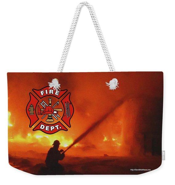 Fire Fighting 5 Weekender Tote Bag