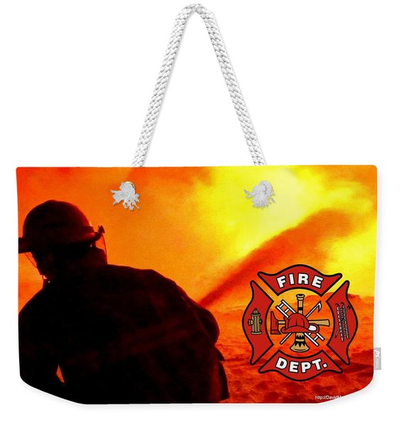 Fire Fighting 6 Weekender Tote Bag