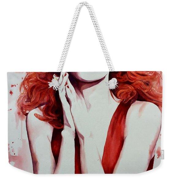 Fire Goddess Weekender Tote Bag
