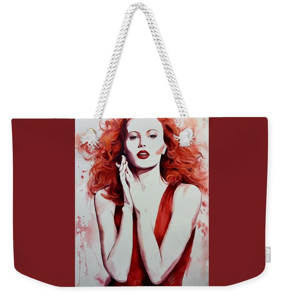 Fire Goddess Weekender Tote Bag