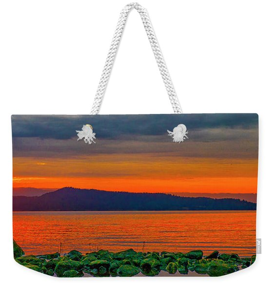 Fire Rock Weekender Tote Bag