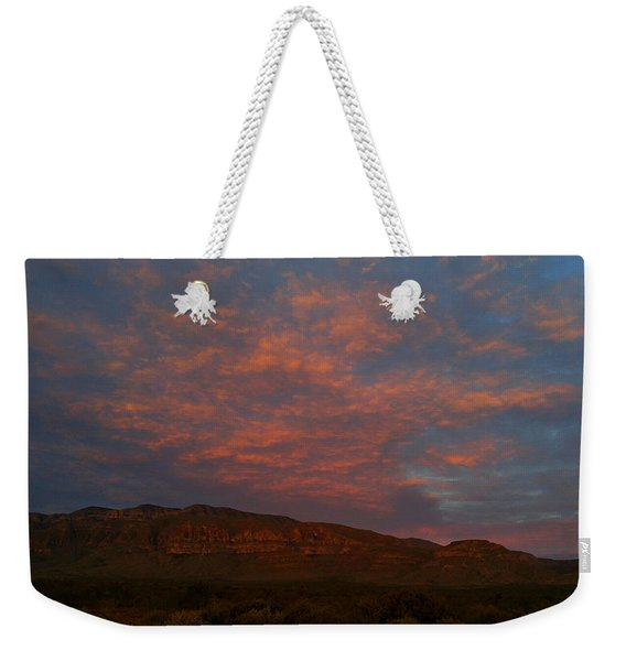 First Light Over Texas 3 Weekender Tote Bag