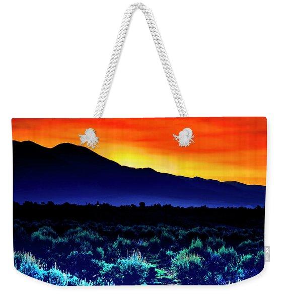 First Light V Weekender Tote Bag