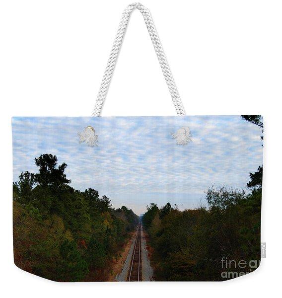 First Stop Oblivion Weekender Tote Bag