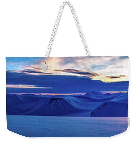 First Sun After Polar Night Weekender Tote Bag