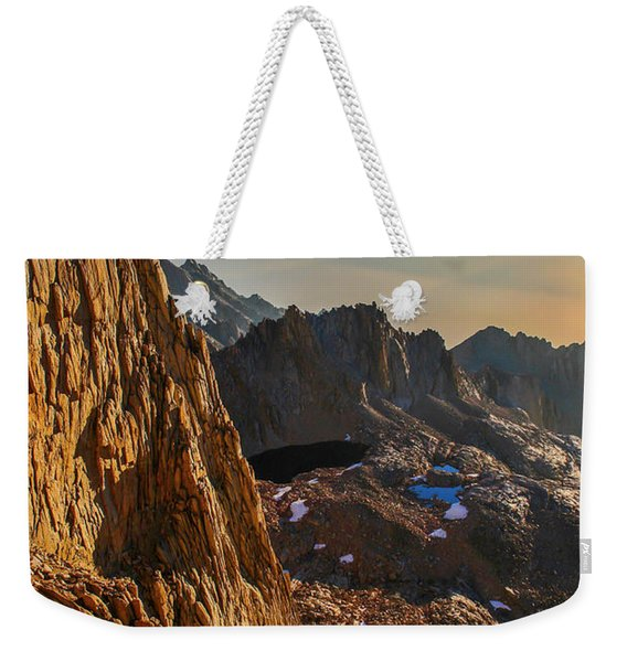 First Sunlight Weekender Tote Bag